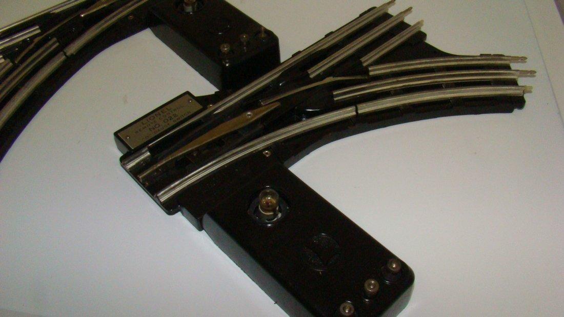 LIONEL NO. 022 RH & LH O GAUGE SWITCHES - 3