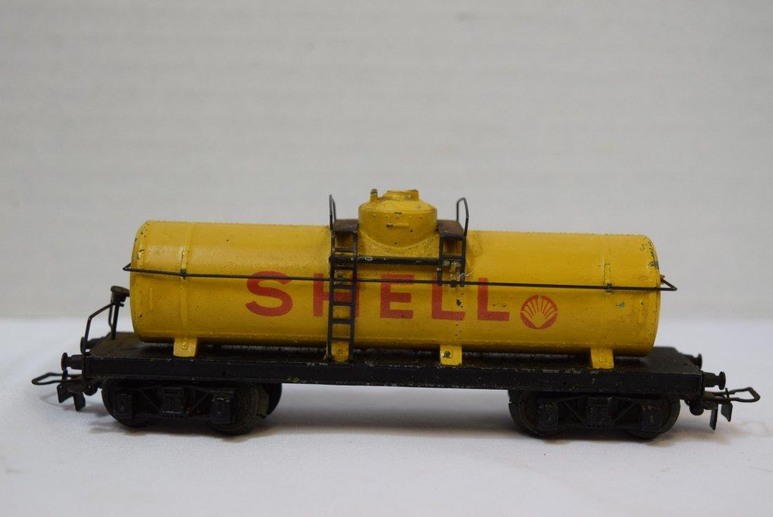 VINTAGE MARKLIN SHELL TANK TRAIN CAR 334 - 2