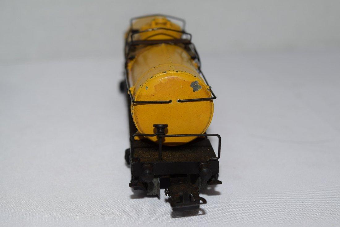 VINTAGE MARKLIN SHELL TANK TRAIN CAR 334 - 4