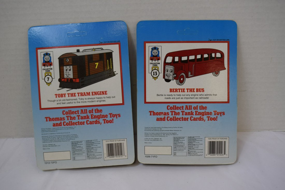 2 SHINING TIME DIECAST METAL CARS; TOBY AND BERTIE - 3