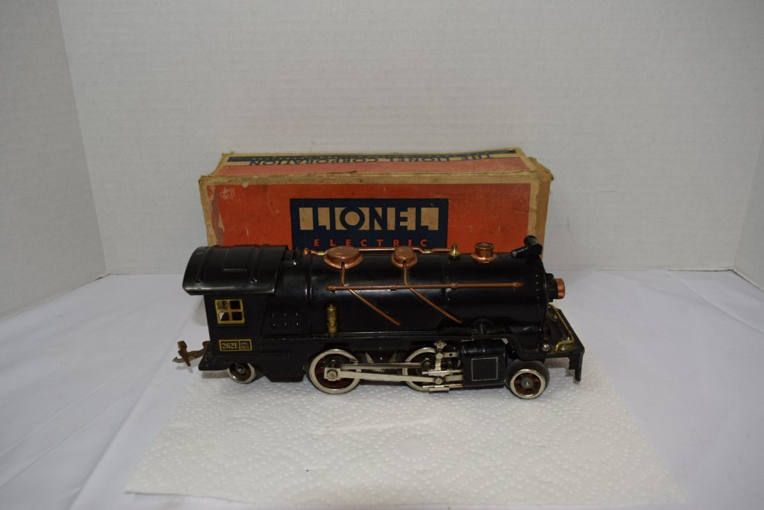 LIONEL PREWAR 262E LOCOMOTIVE ENGINE WITH ORIGINAL