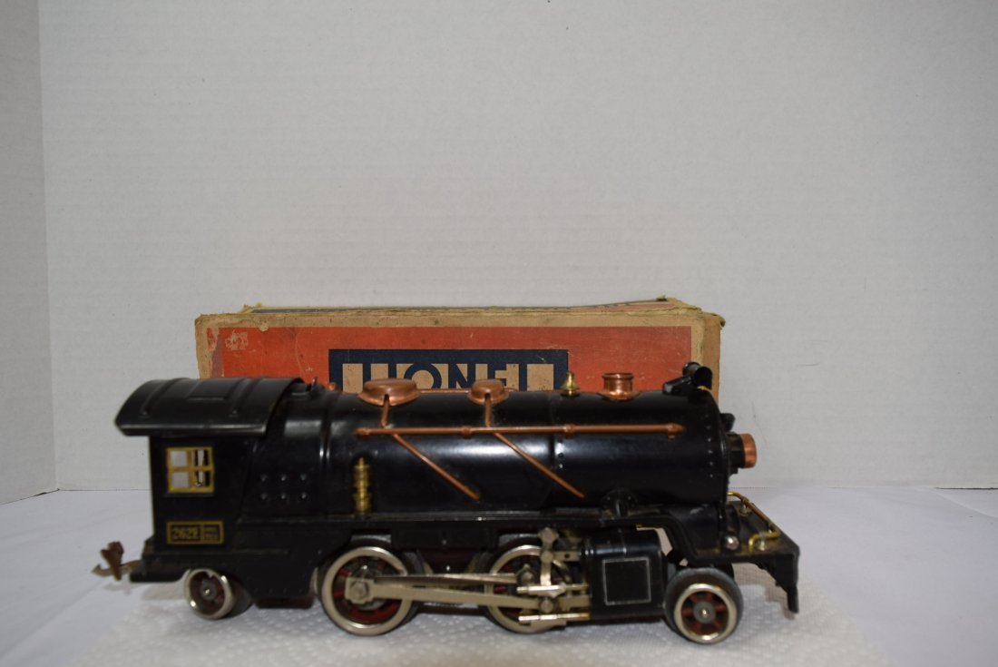 LIONEL PREWAR 262E LOCOMOTIVE ENGINE WITH ORIGINAL - 2