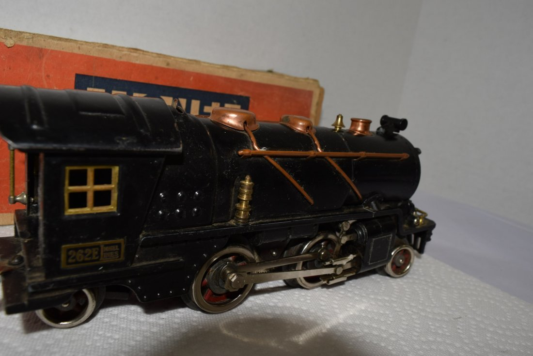 LIONEL PREWAR 262E LOCOMOTIVE ENGINE WITH ORIGINAL - 3
