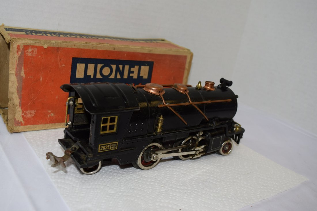 LIONEL PREWAR 262E LOCOMOTIVE ENGINE WITH ORIGINAL - 4