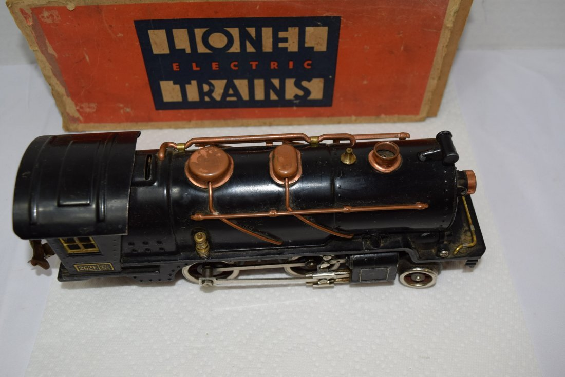 LIONEL PREWAR 262E LOCOMOTIVE ENGINE WITH ORIGINAL - 5