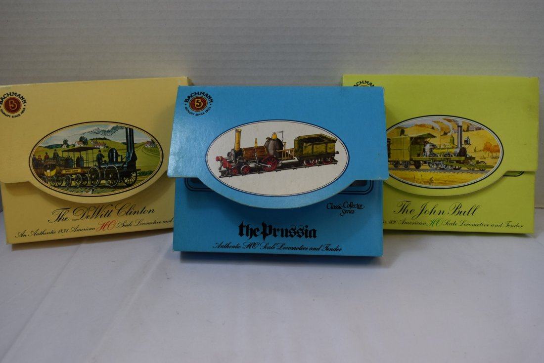 3 BACHMANN CLASSIC COLLECTOR SERIES HO SCALE LOCOM