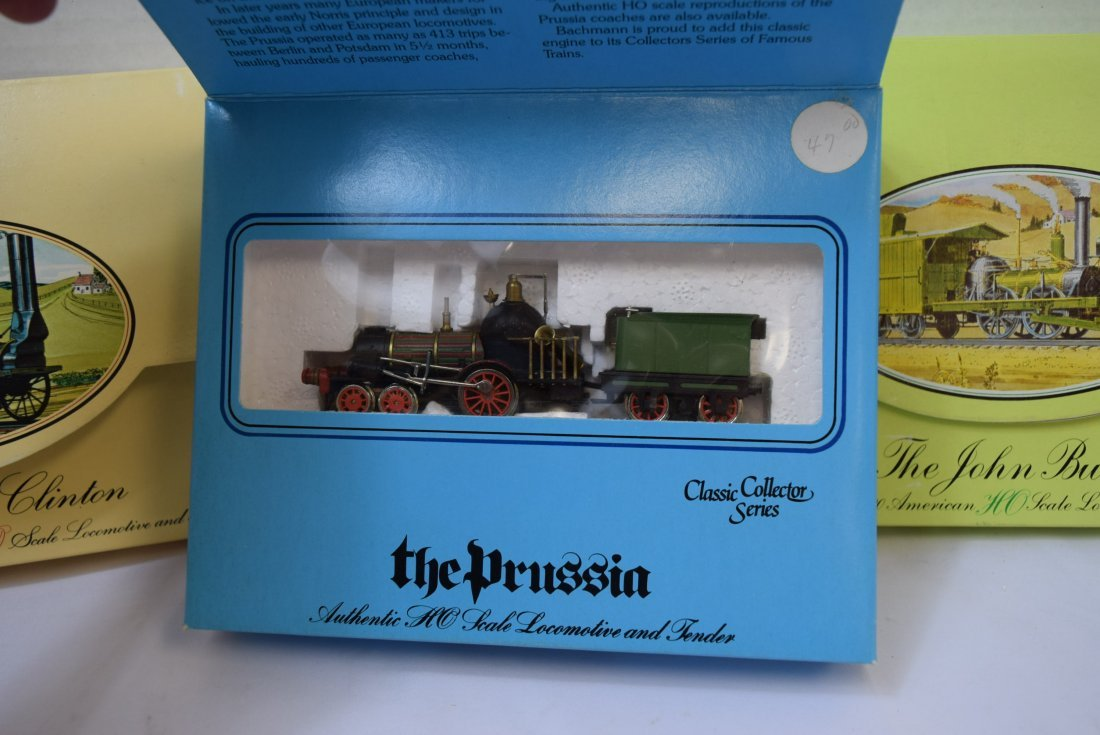 3 BACHMANN CLASSIC COLLECTOR SERIES HO SCALE LOCOM - 2
