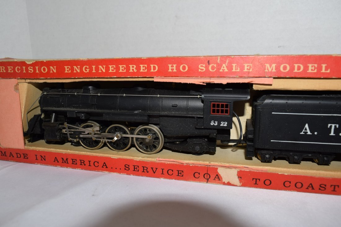 VINTAGE TYCO HO SCALE LOCOMOTIVE AND TENDER. NEW I - 2