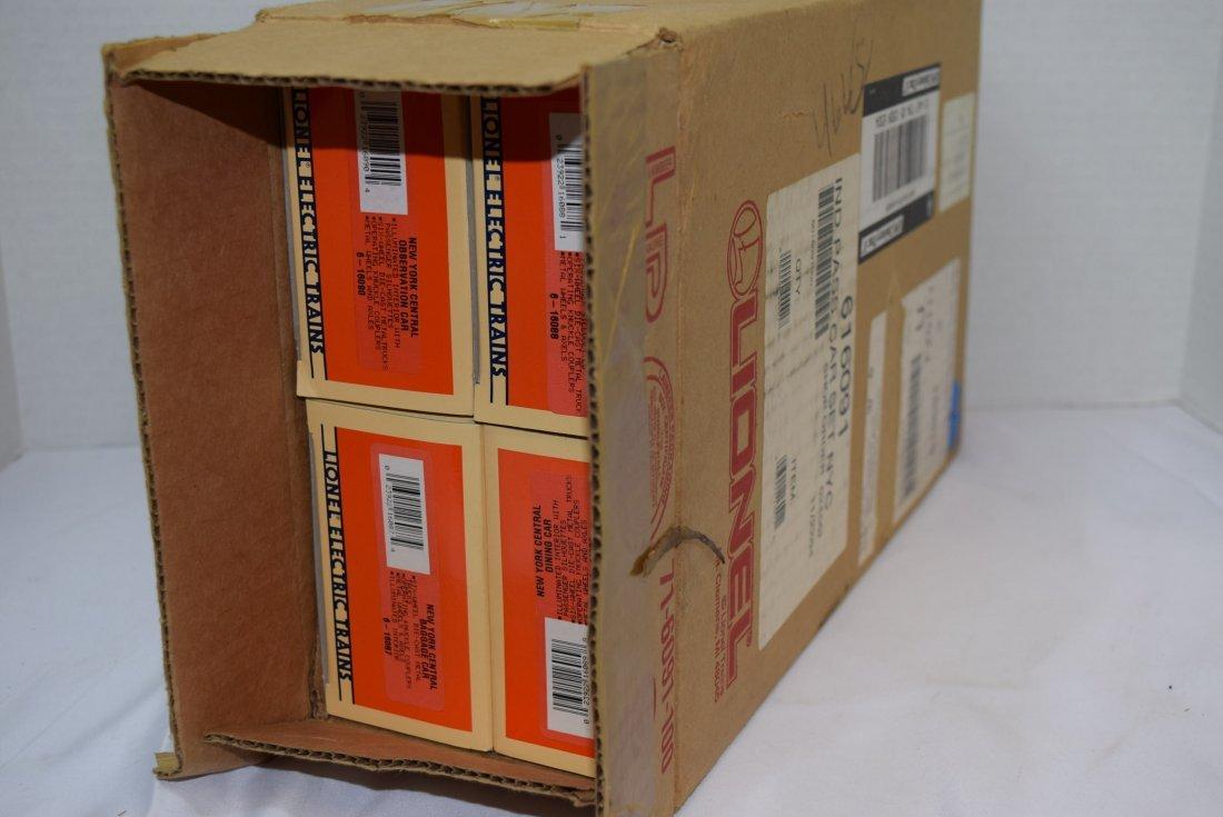 LIONEL 4 PC NEW YORK CENTRAL PASSENGER CAR SET  NE