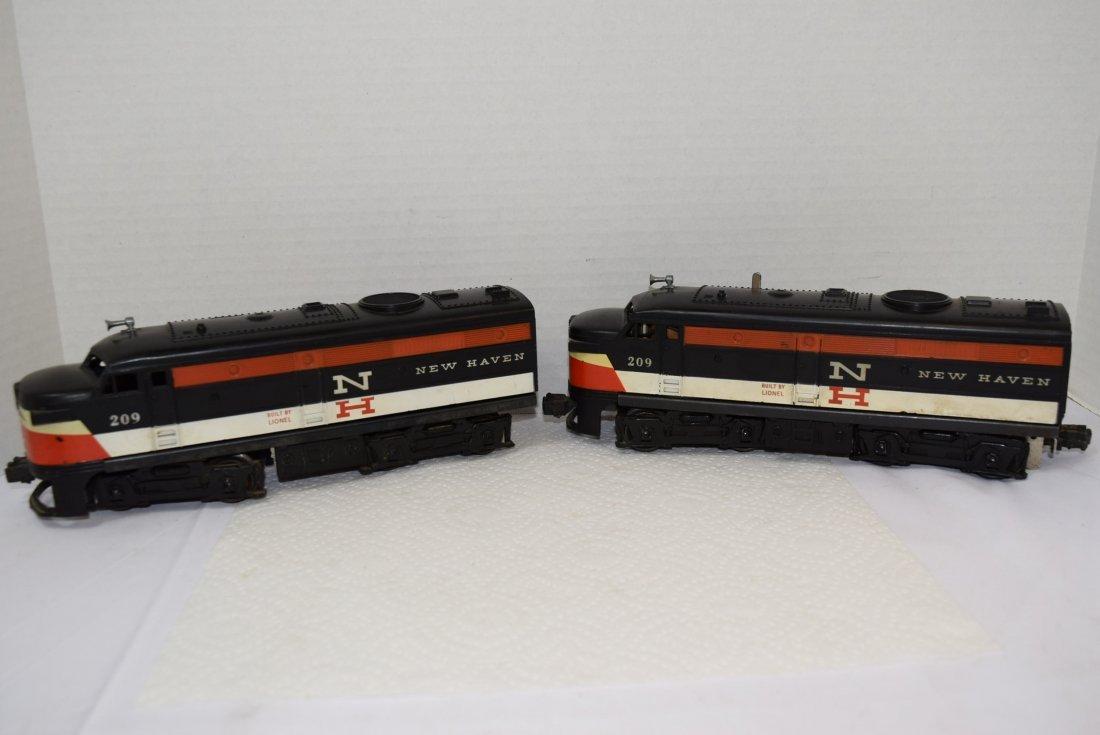 LIONEL NEW HAVEN 209 DIESEL ENGINE LOCOMOTIVE TRAI