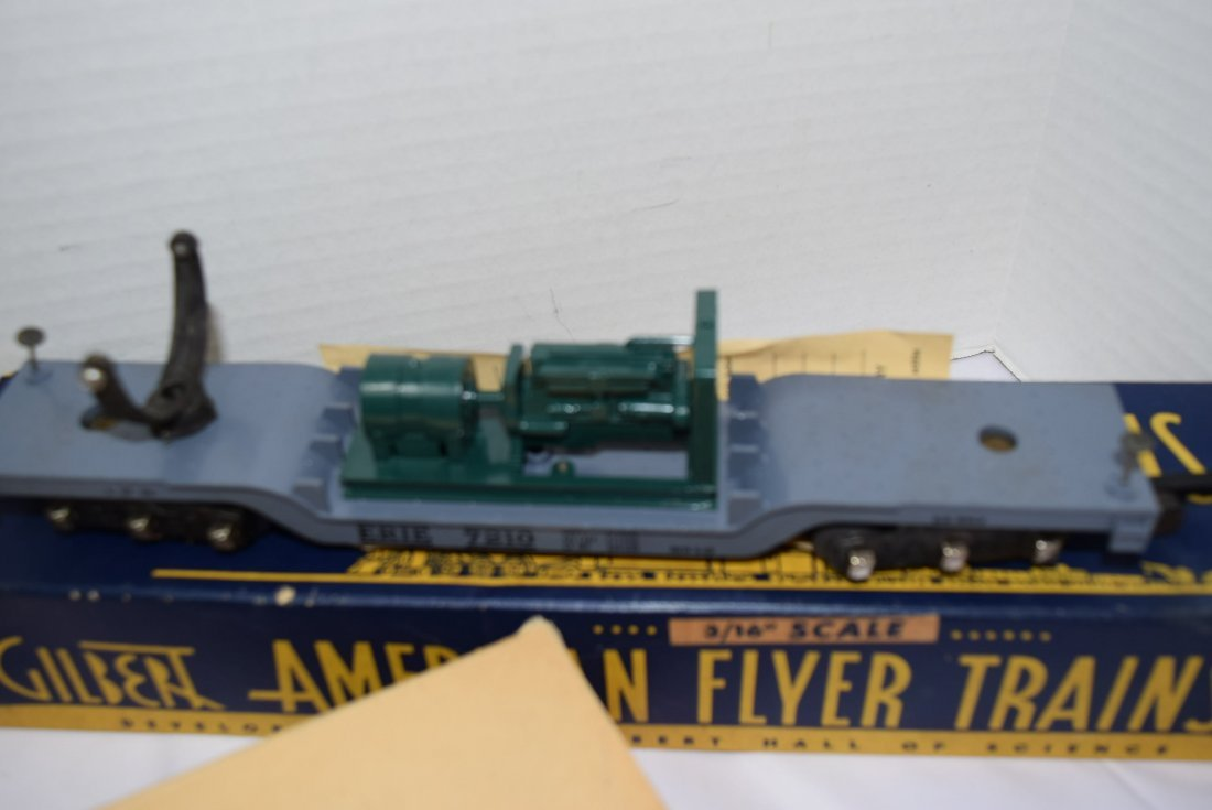 3 AMERICAN FLYER ROLLING CARS 3/16'' - 5