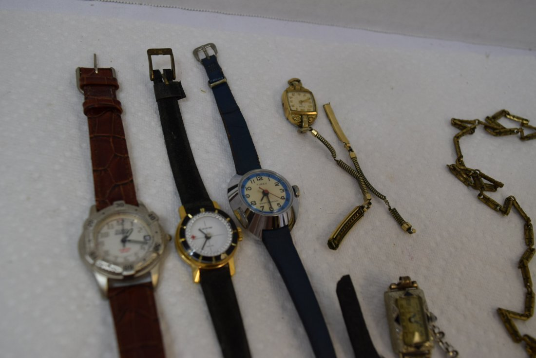 3 VINTAGE WATCHES ELGIN; BEDFORD; LUCERNE AND MORE - 5
