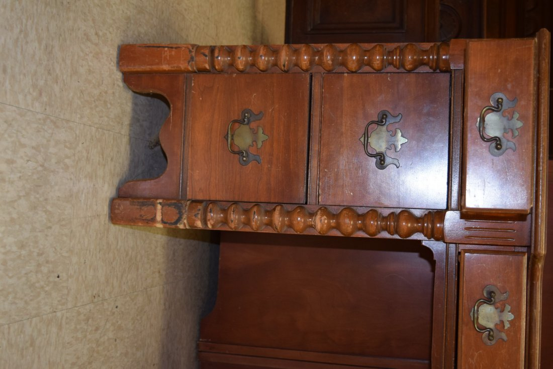 SOLID WOOD WRITING DESK - 3