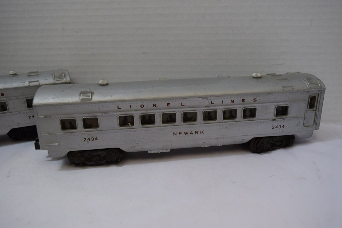 3 LIONEL TRAIN LIGHTED OBSERVATION CARS - 5