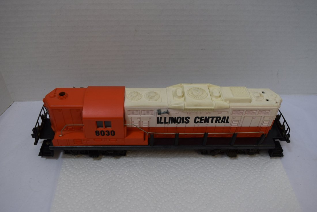 LIONEL TRAIN ILLINOIS CENTRAL 8030 O GAUGE DIESEL - 2