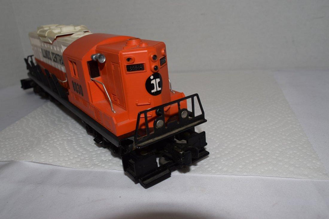 LIONEL TRAIN ILLINOIS CENTRAL 8030 O GAUGE DIESEL - 4