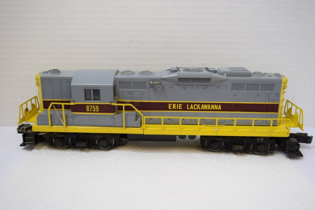 LIONEL O GAUGE LACKAWANNA TRAIN LOCOMOTIVE 6-8759