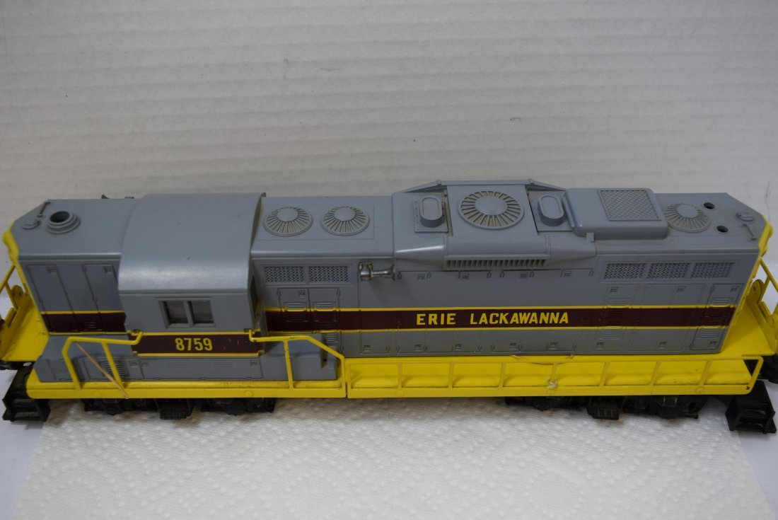 LIONEL O GAUGE LACKAWANNA TRAIN LOCOMOTIVE 6-8759 - 2