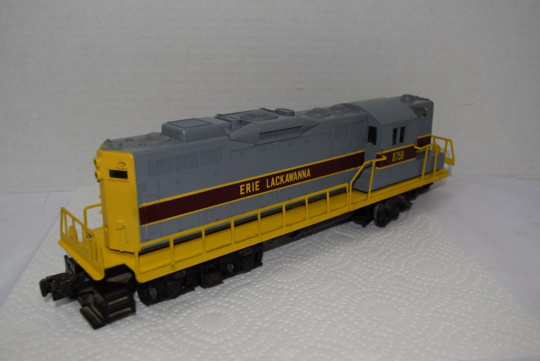 LIONEL O GAUGE LACKAWANNA TRAIN LOCOMOTIVE 6-8759 - 3