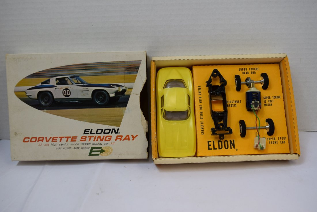 VINTAGE ELDON  CORVETTE STING RAY 3936:500 -  NEW