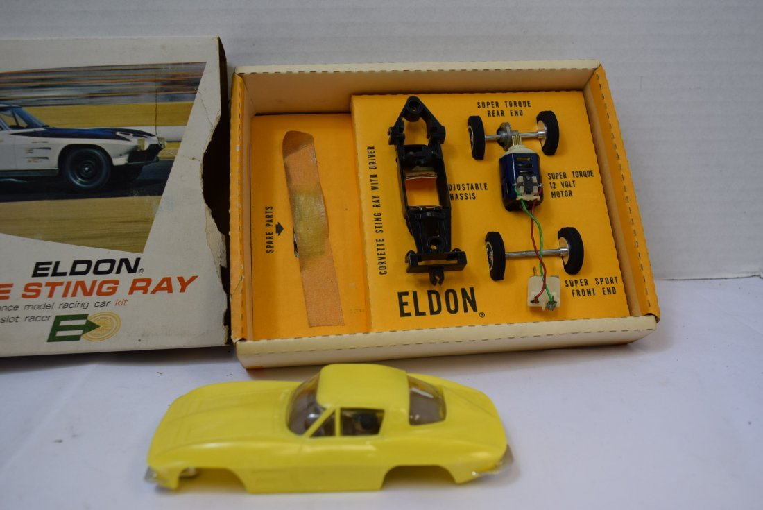 VINTAGE ELDON  CORVETTE STING RAY 3936:500 -  NEW - 4