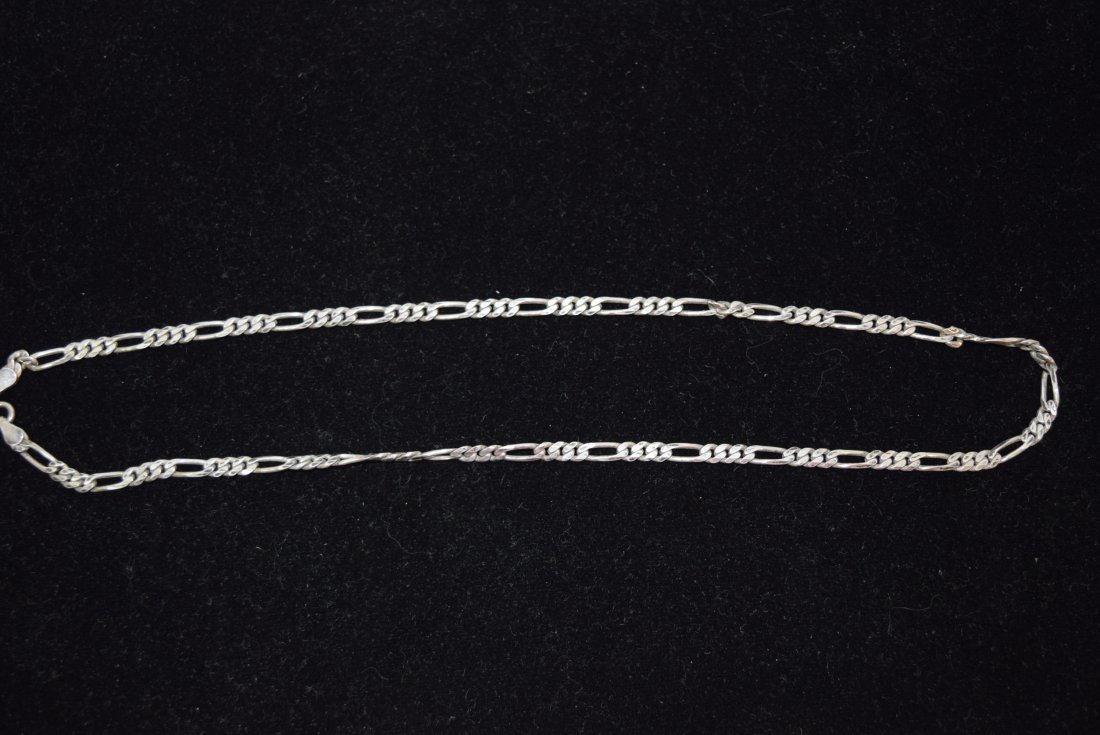 STERLING CHAIN NECKLACE 16.5 GRAMS