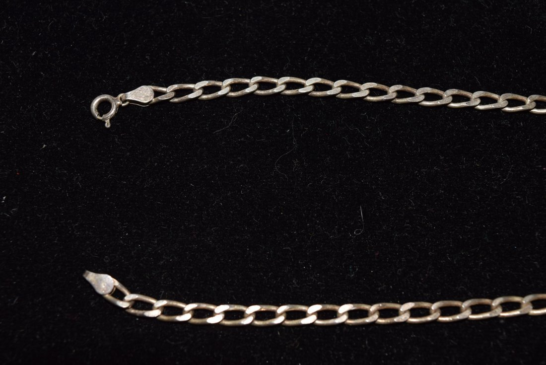 STERLING CHAIN NECKLACE 14.3 GRAMS - 2