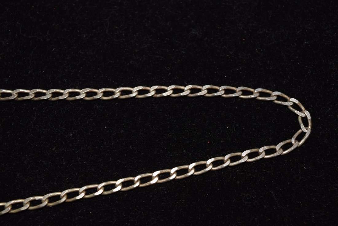 STERLING CHAIN NECKLACE 14.3 GRAMS - 3