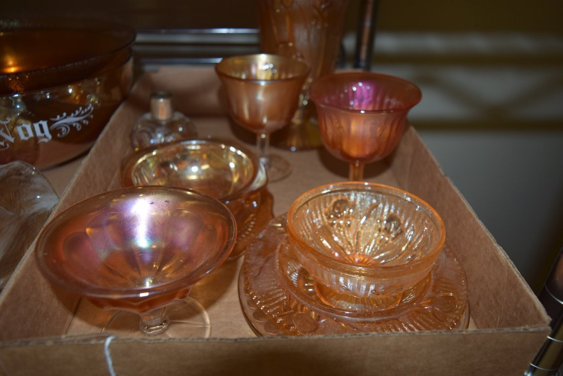 ASSORTED LOT OF MARIGOLD DISHES - 3