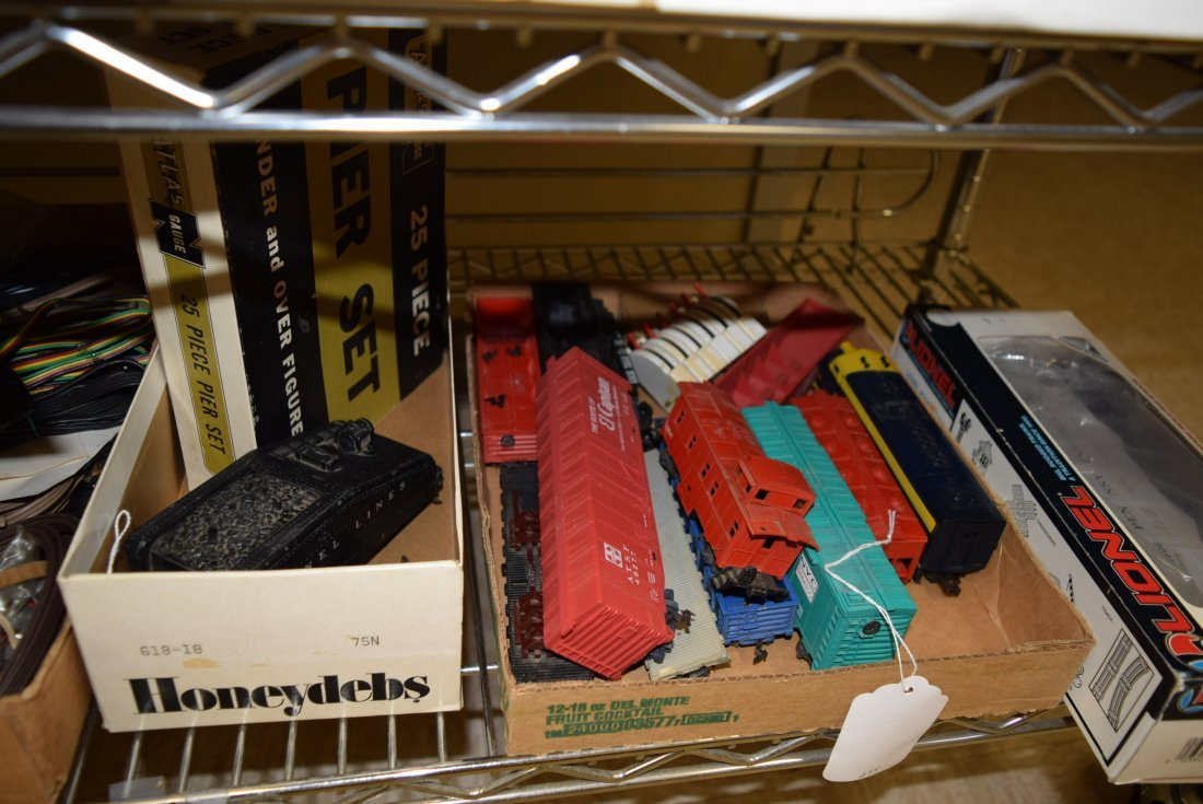 VARIOUS LIONEL AND ATLAS HO & O SCALE ITEMS - 3