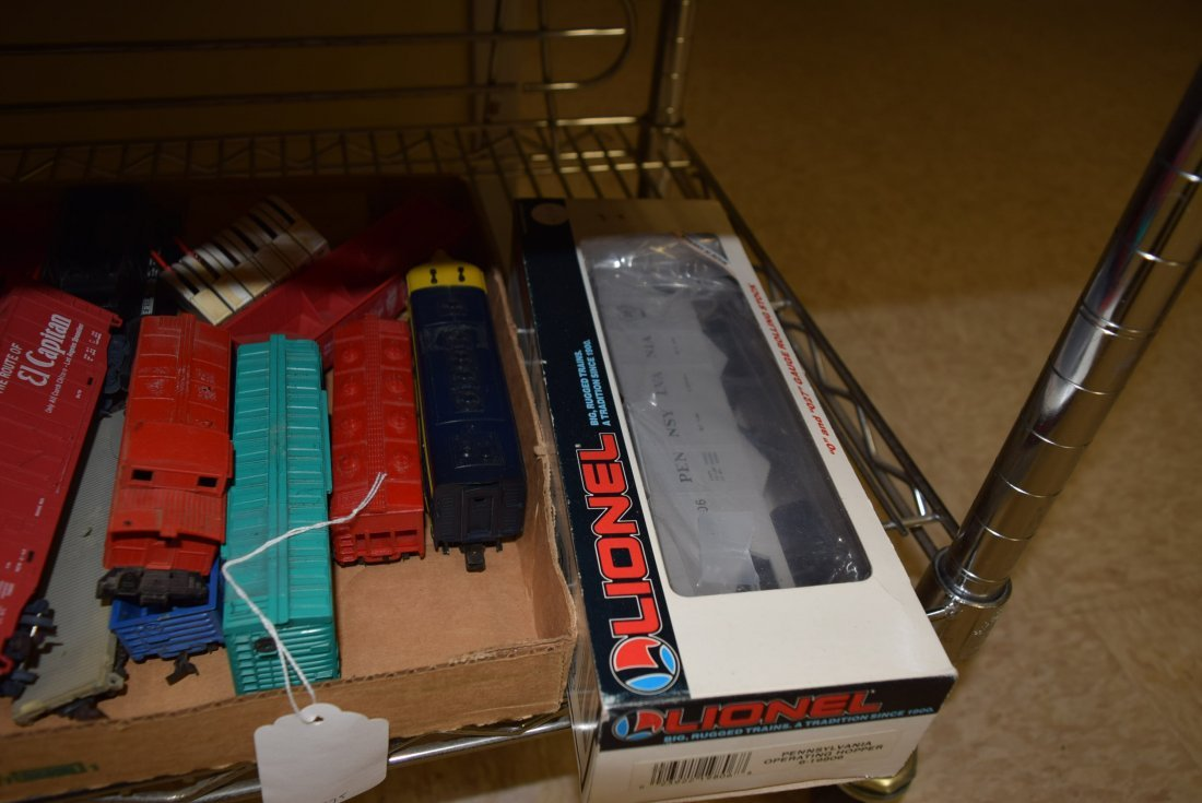 VARIOUS LIONEL AND ATLAS HO & O SCALE ITEMS - 4