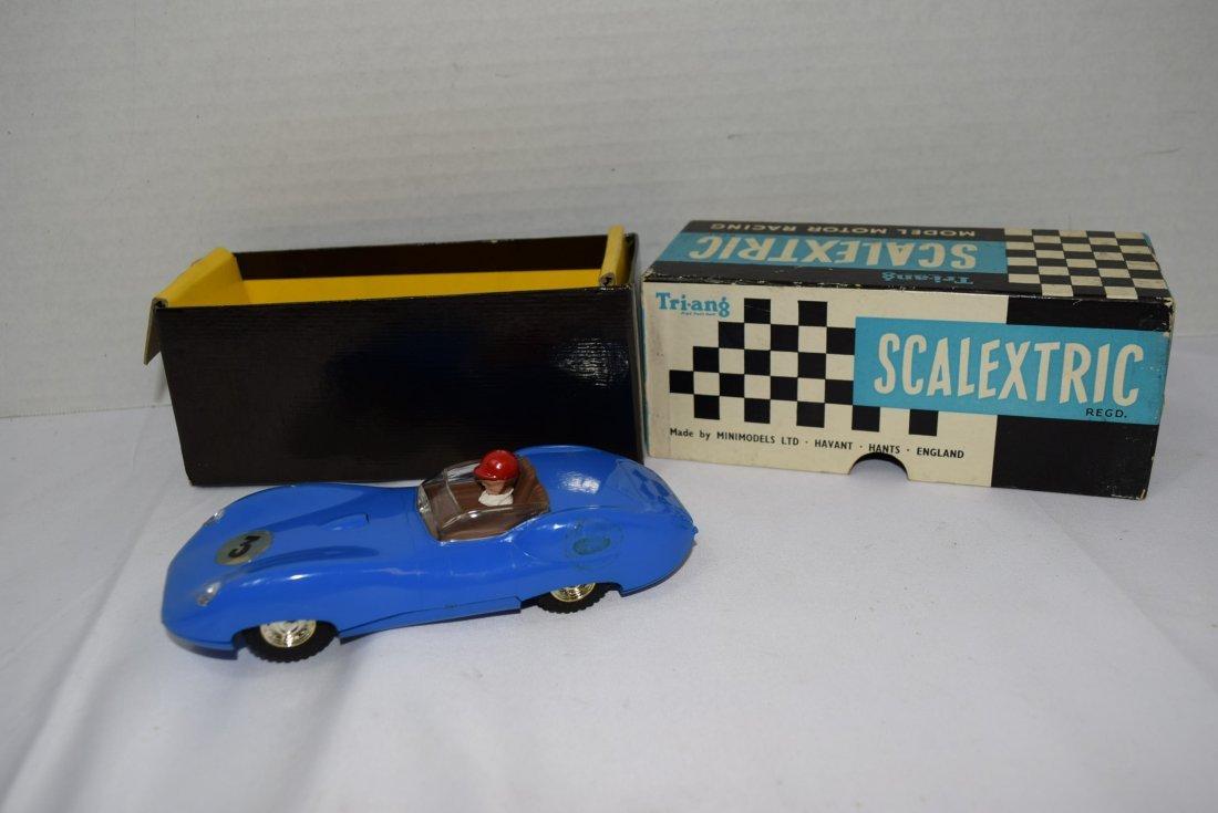 SCALEXTRIC LISTER JAGUAR MODEL MOTOR RACING CAR