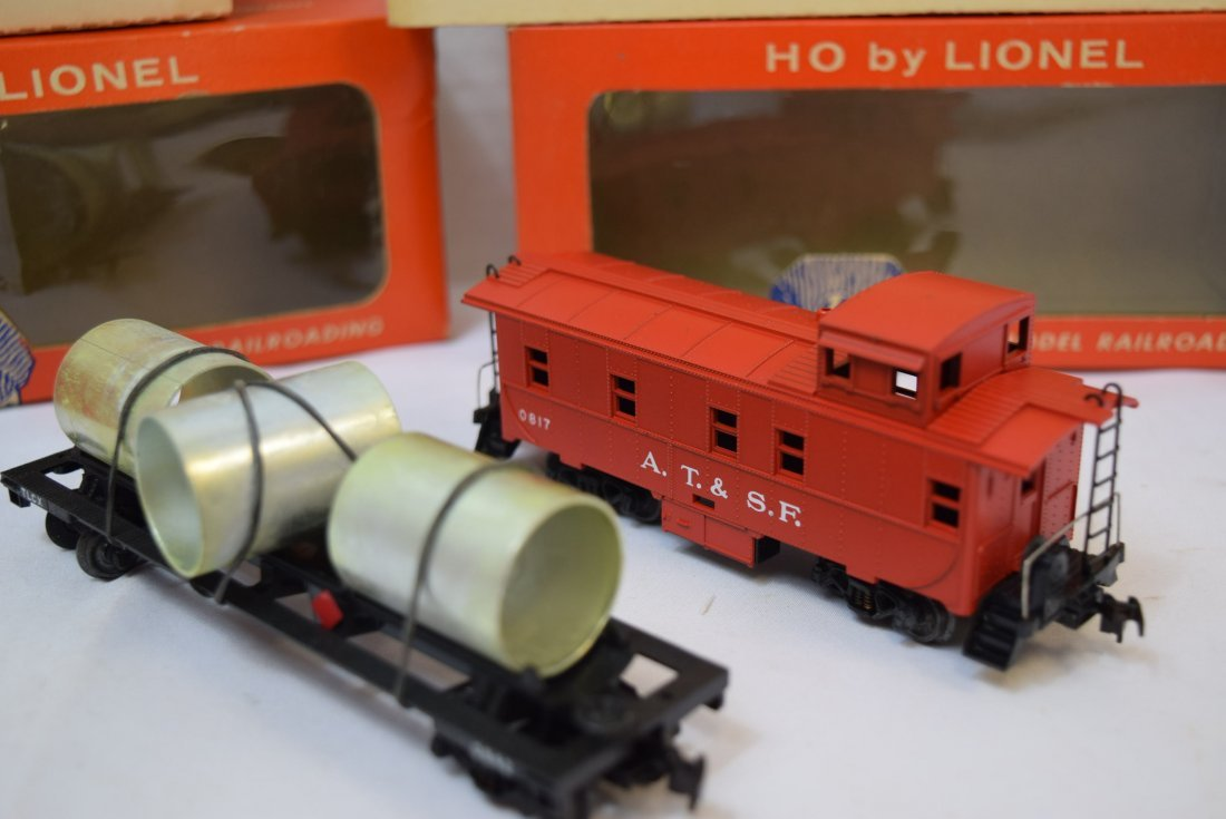 2 LIONEL HO SCALE TRAIN CAR & CABOOSE - 4