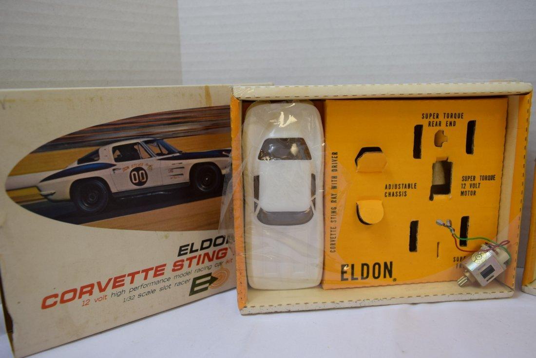 ELDON CORVETTE STING RAY NEW IN BOX & EXTRAS - 2