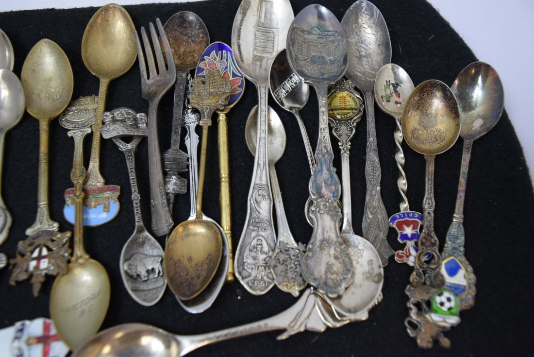 LOT OF COLLECTOR SPOONS & MORE - 2