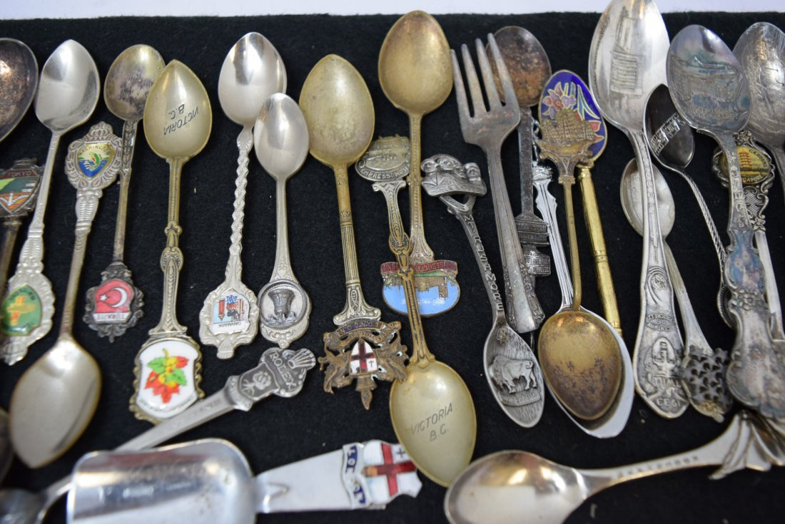 LOT OF COLLECTOR SPOONS & MORE - 3