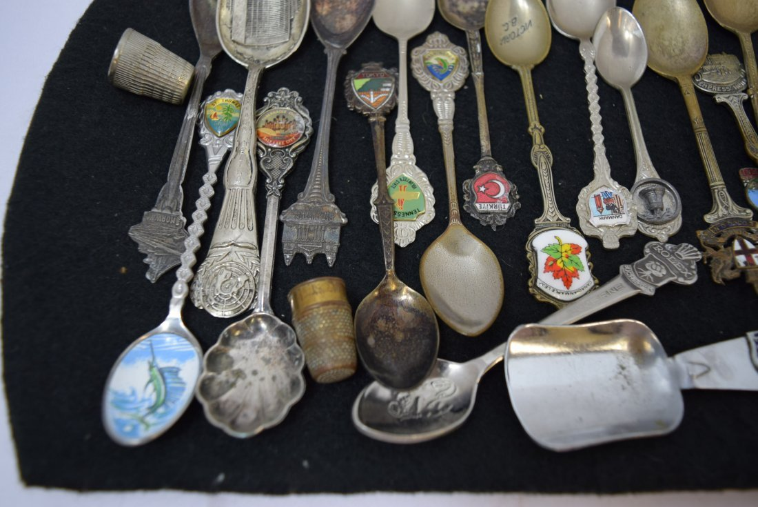 LOT OF COLLECTOR SPOONS & MORE - 4