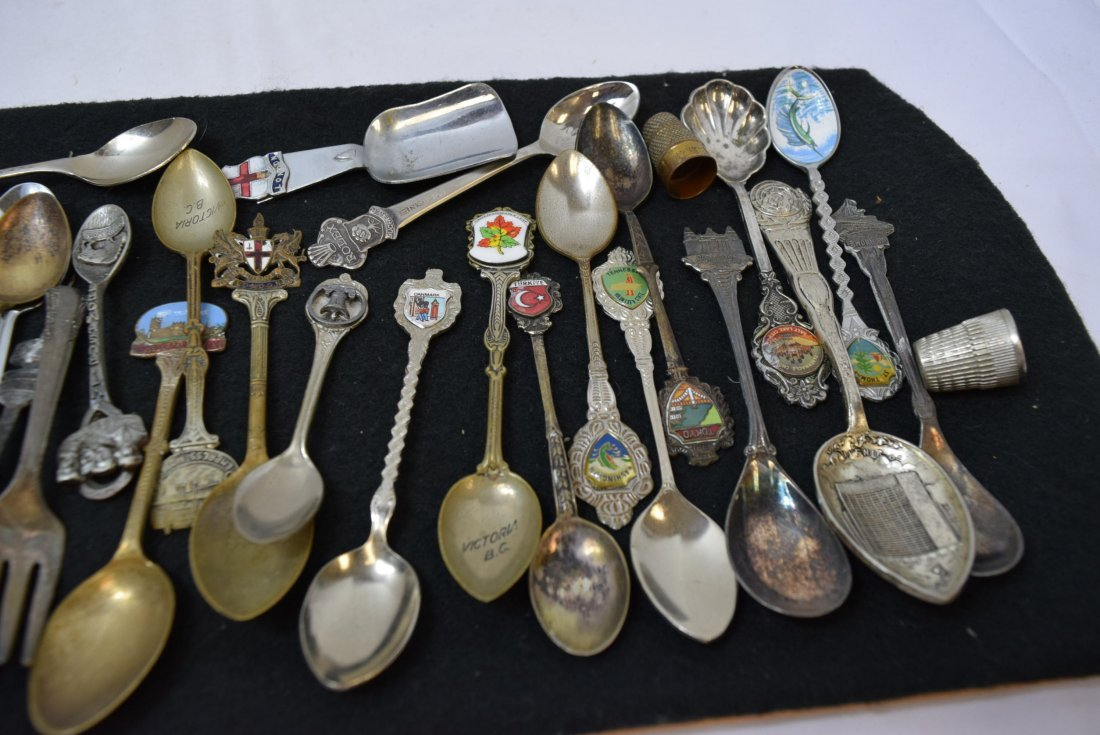 LOT OF COLLECTOR SPOONS & MORE - 6