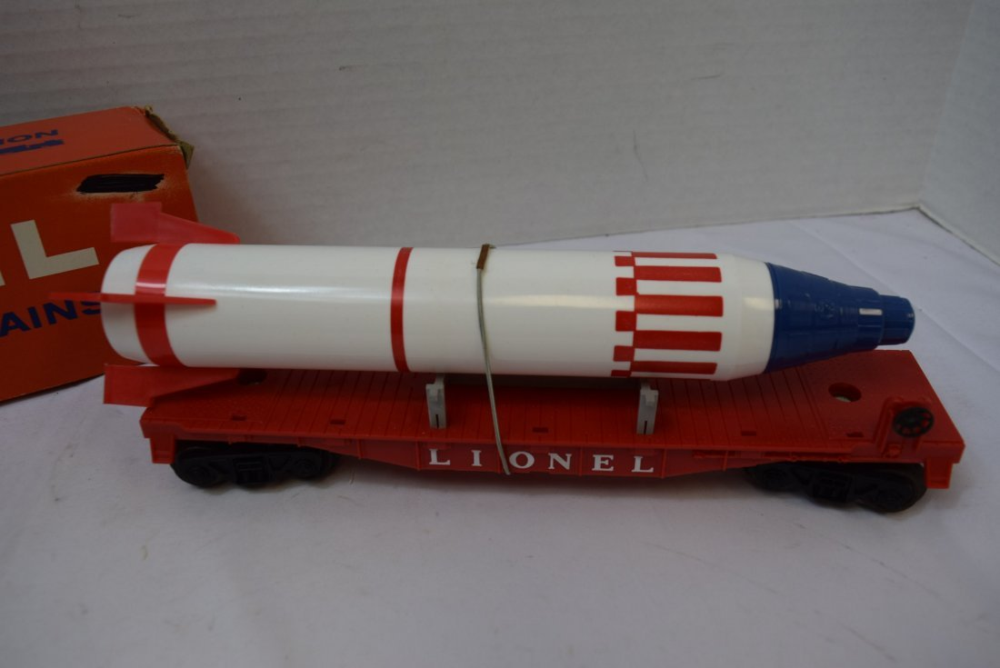 LIONEL 6407 STERLING MISSLE CAR WITH PENCIL SHAPEN - 2
