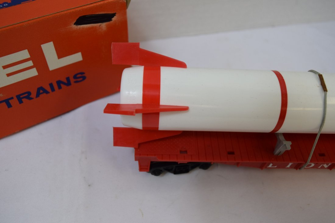 LIONEL 6407 STERLING MISSLE CAR WITH PENCIL SHAPEN - 3