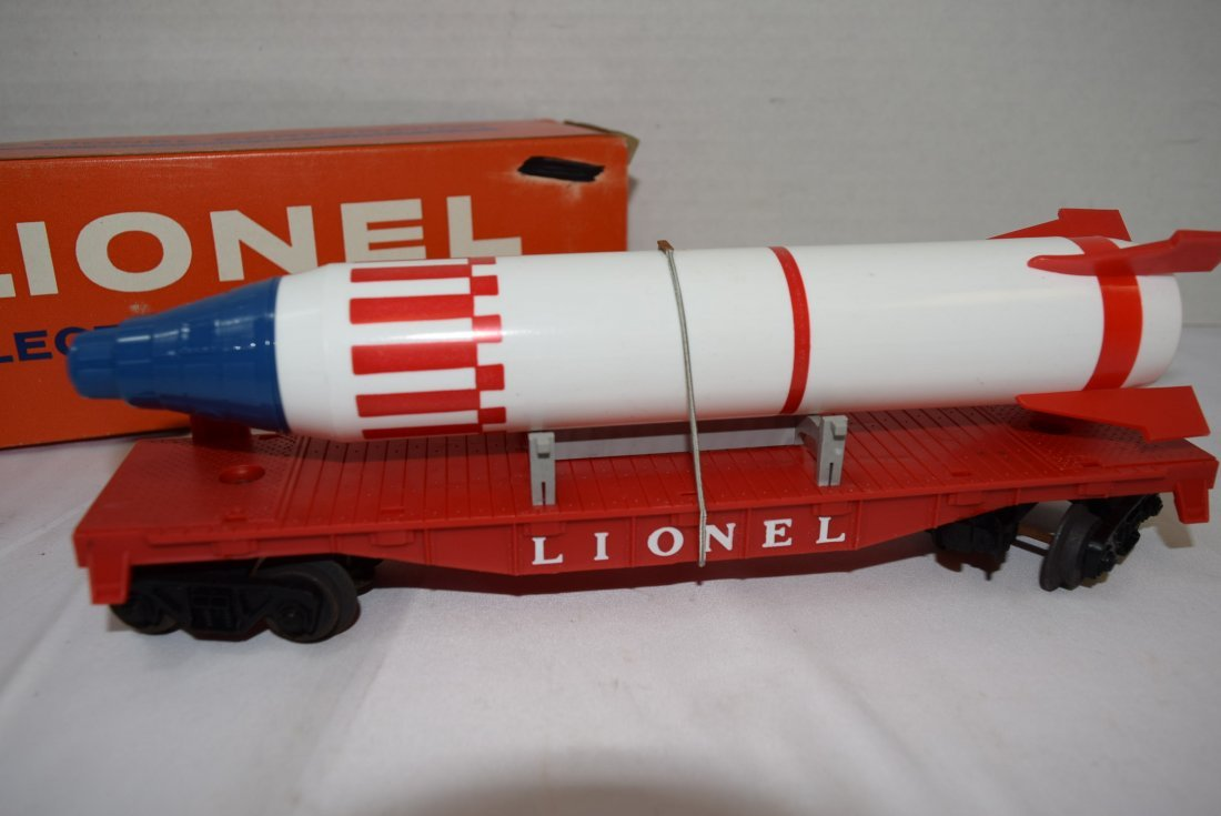 LIONEL 6407 STERLING MISSLE CAR WITH PENCIL SHAPEN - 4
