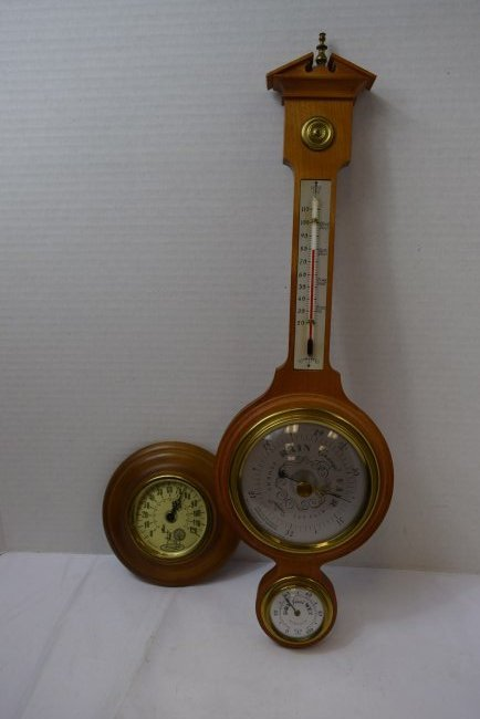 SWIFT INSTRUMENT &  COOPER CO BAROMETERS