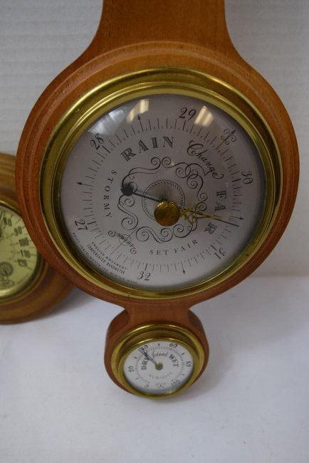 SWIFT INSTRUMENT &  COOPER CO BAROMETERS - 2