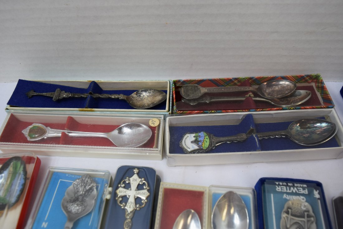 20 COLLECTOR SPOONS - 2