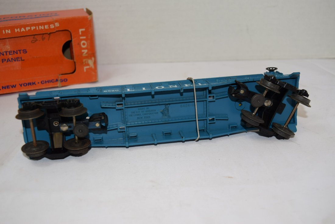 LIONEL FLAT CAR WITH HELICOPTER & MISSILES 6820 - 6