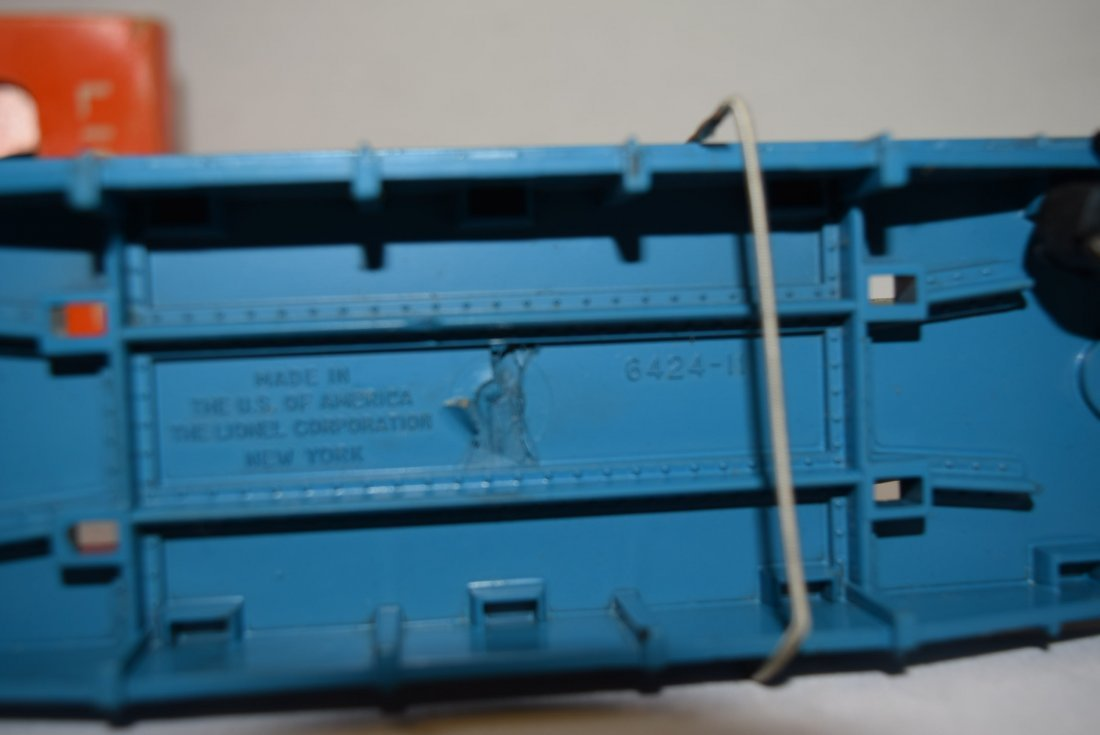 LIONEL FLAT CAR WITH HELICOPTER & MISSILES 6820 - 7