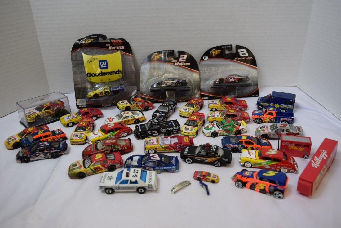 LOT BOX OF NASCAR CARS