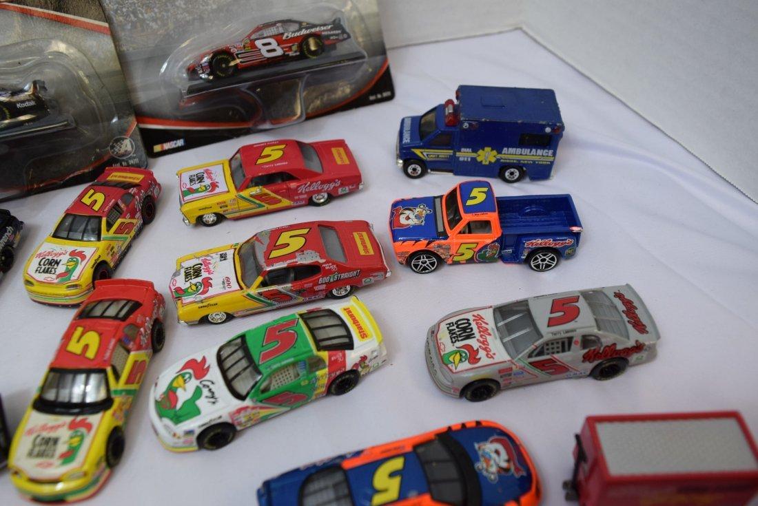 LOT BOX OF NASCAR CARS - 2