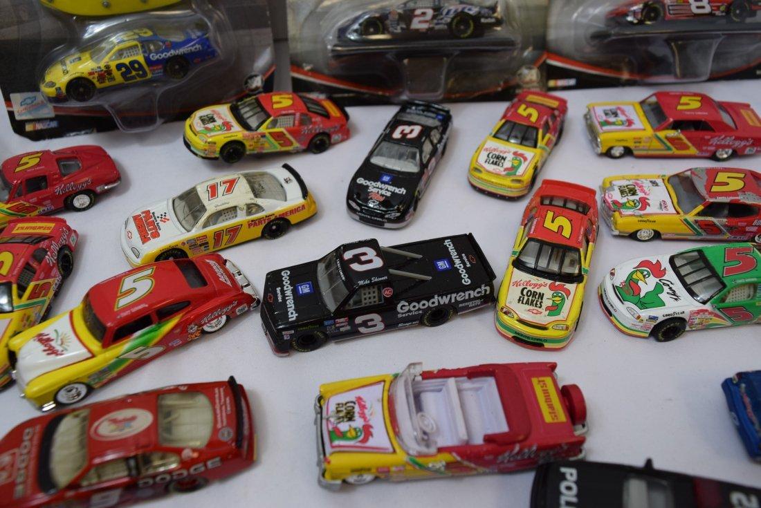 LOT BOX OF NASCAR CARS - 3