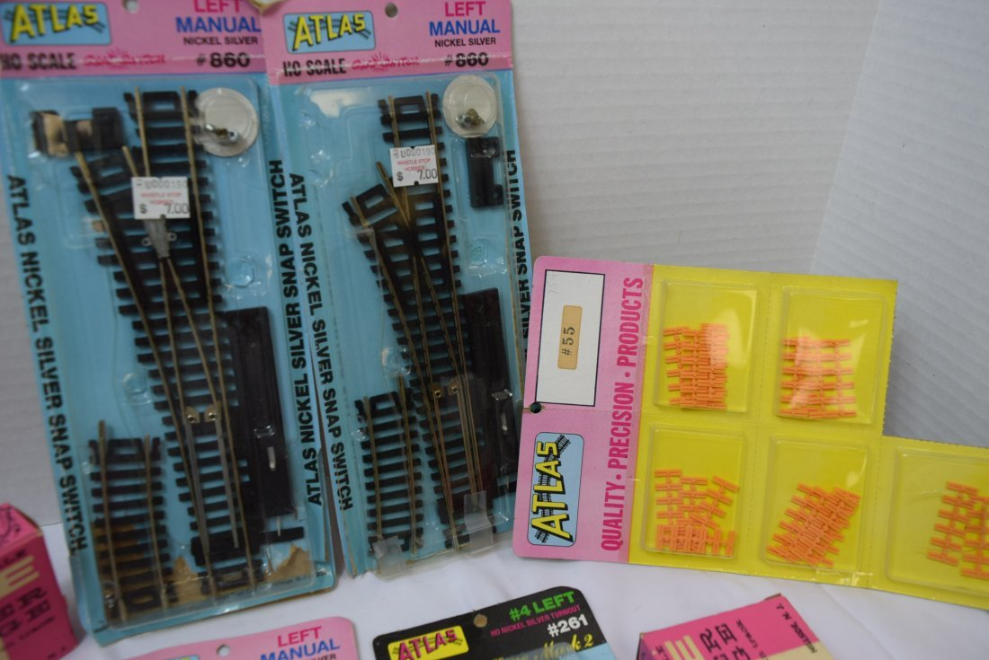 ATLAS HO SCALE TRACKS AND SUPPLIES - 4